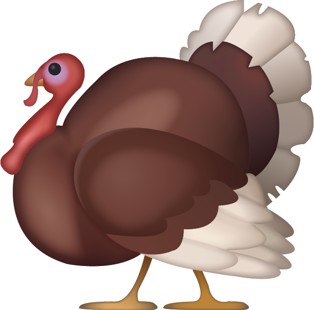 Turkey Emoji [Free Download IOS Emojis] Icon Free Photo PNG Image